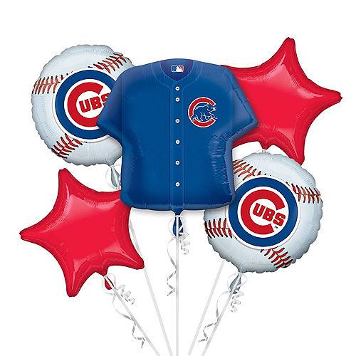 Chicago Cubs Balloon Bouquet 5pc