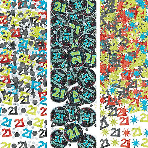 Brilliant 21st Birthday Confetti 12oz