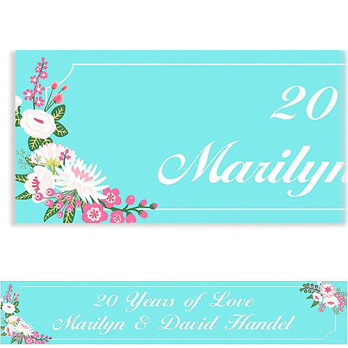Custom Pretty Little Blossoms Banner
