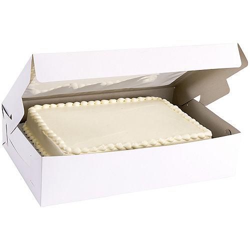 White Window Cake Box