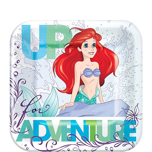 Little Mermaid Dessert Plates 8ct