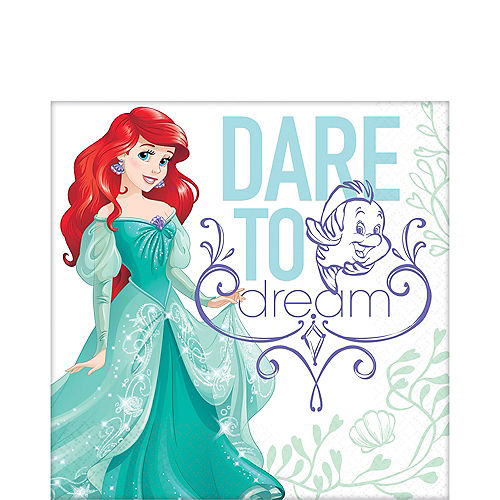 Little Mermaid Lunch Napkins 16ct