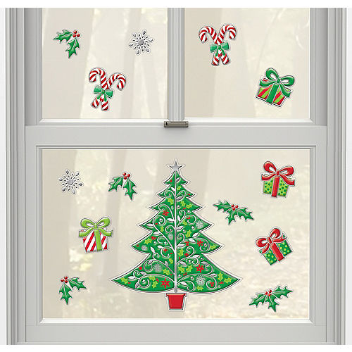 christmas tree decals 14ct