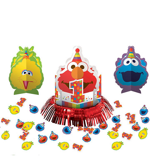 1st Birthday Elmo Table Decorating Kit 23pc