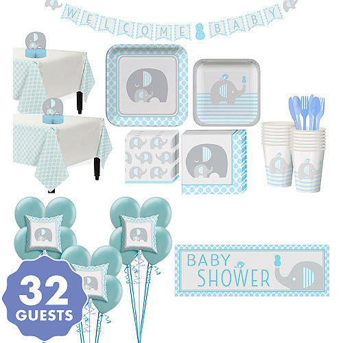 Little Elephant Boy Baby Shower Supplies Party City