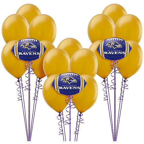 f1bee506 NFL Baltimore Ravens Party Supplies, Decorations & Party Favors ...