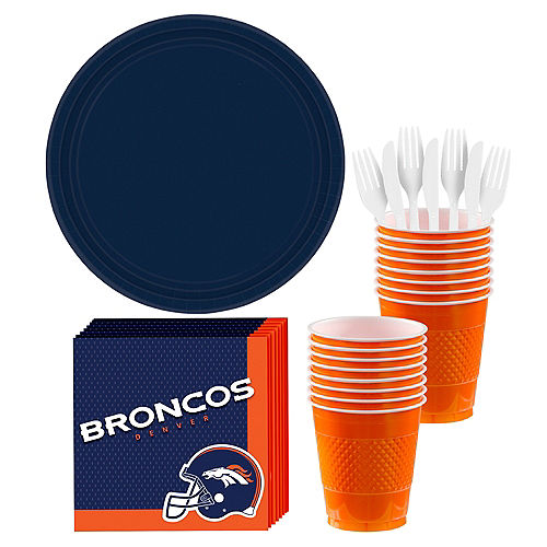Denver Broncos Party Kit For 18 Guests