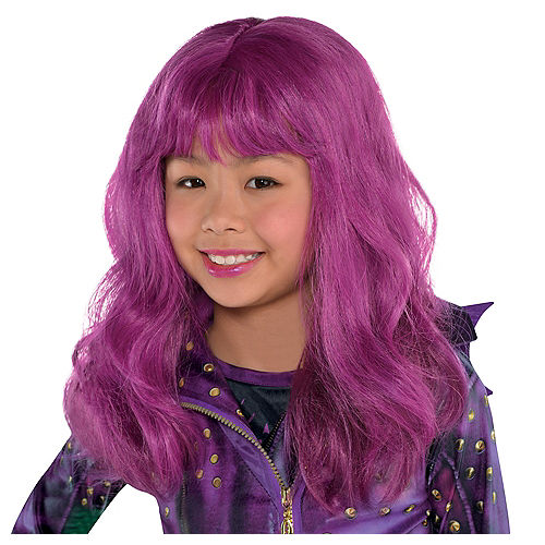 child purple mal wig descendants
