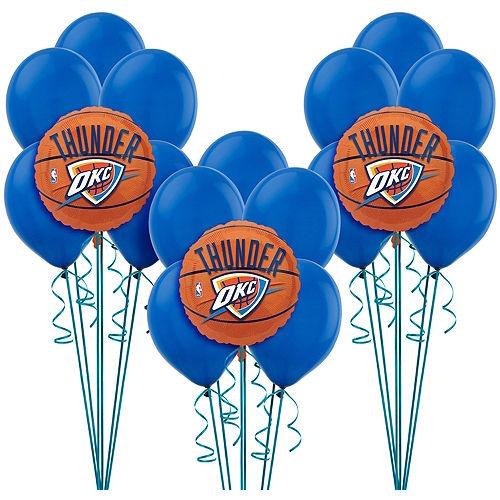 finest selection 66e04 e43a3 NBA Oklahoma City Thunder Party Supplies | Party City