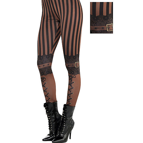 ef3421f2531 Adult Steampunk Leggings