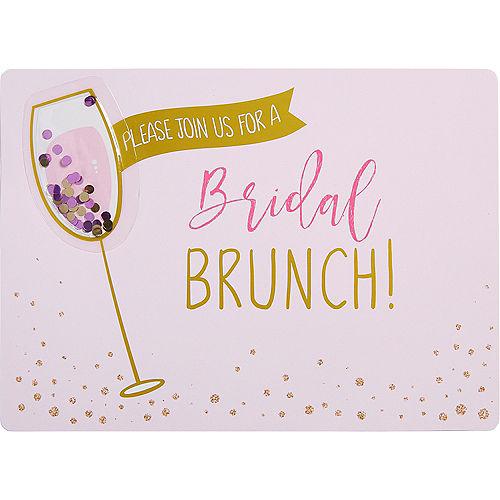 Bridal shower invitations thank you notes invitation kits party premium bridal shower brunch invitations 8ct filmwisefo