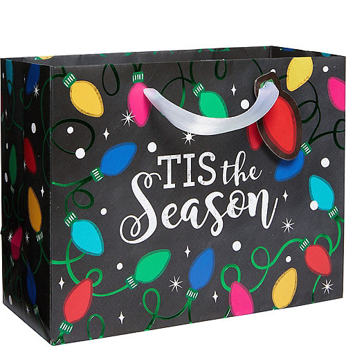 small twinkle lights gift bag