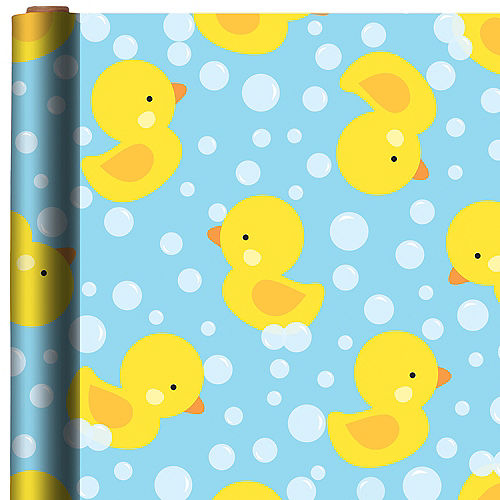 Rubber Duck Gift Wrap