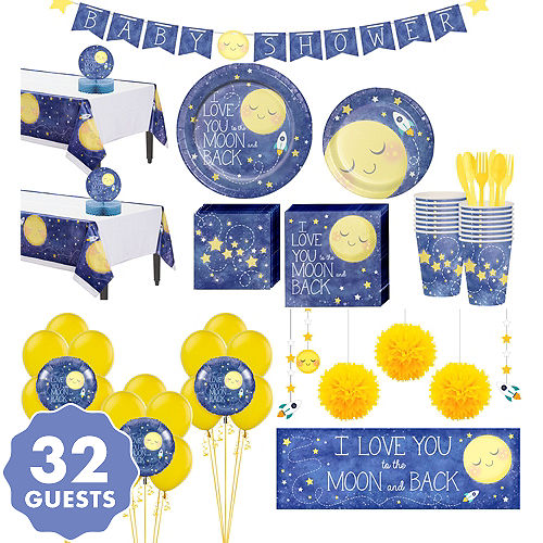 Moon Stars Baby Shower Party Supplies | Party City