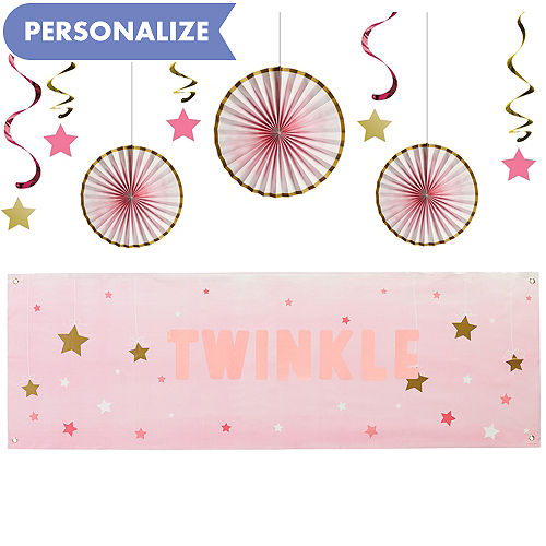 Pink Twinkle Little Star Decorating Kit