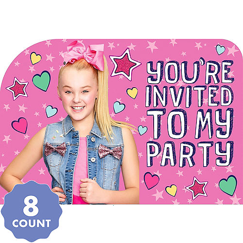 JoJo Siwa Invitations 8ct