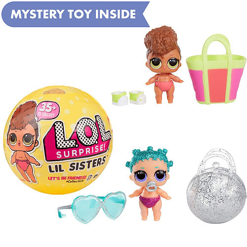 17a07a79608 L.O.L. Surprise! Lil Sisters Series 3 Mystery Pack