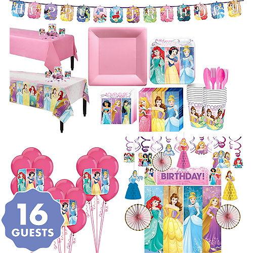 Disney Princess Tableware Ultimate Kit For 16 Guests