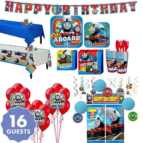 Thomas The Tank Engine Tableware Ultimate Kit For 16 Guests