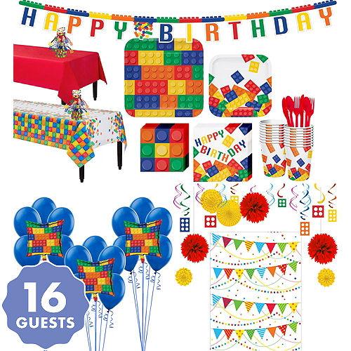 Building Blocks Tableware Ultimate Kit For 16 Guests