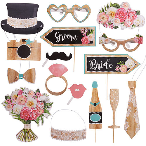 Wedding Photo Booth Props | Party City