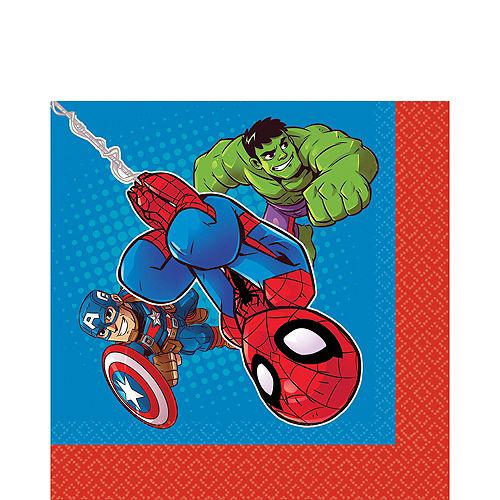 Marvel Super Hero Adventures Lunch Napkins 16ct