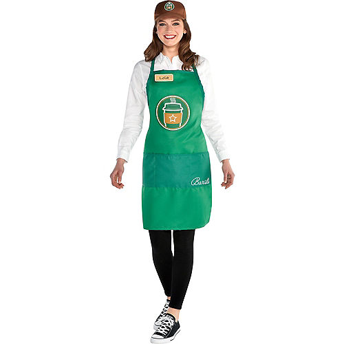 Adult Barista Costume Accessory Kit