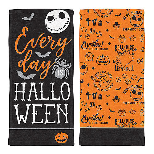 the nightmare before christmas kitchen towels 2ct