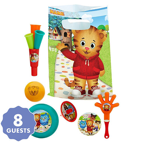 Daniel Tiger S Neighborhood Basic Favor Kit For 8 Guests