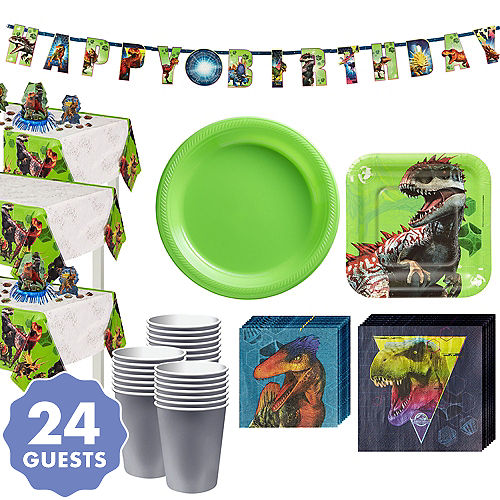 Jurassic World Tableware Kit For 24 Guests