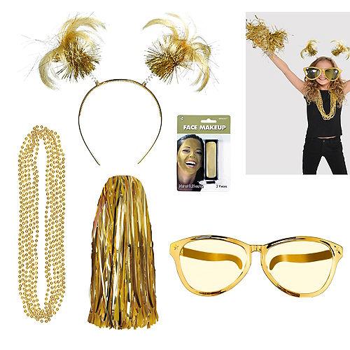 7477e3a8f3c Gold Accessories - Gold Wigs