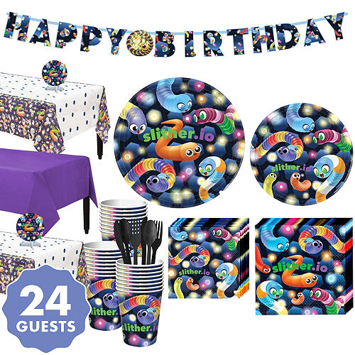 Slitherio Basic Party Kit For 24 Guests