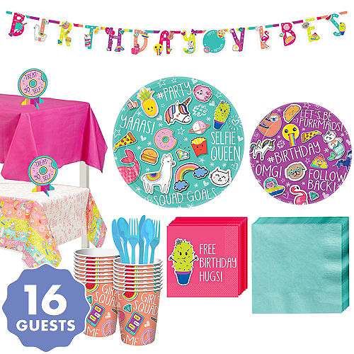 Selfie Celebration Party Kit For 16 Guests