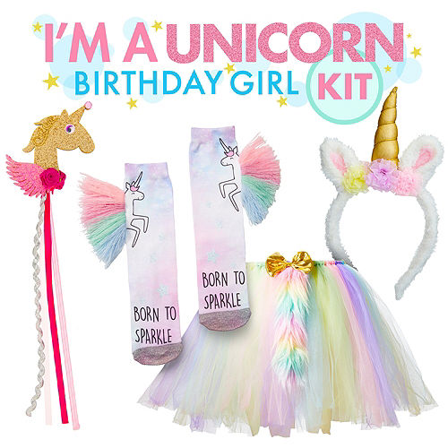 Im A Unicorn Birthday Girl Outfit Kit