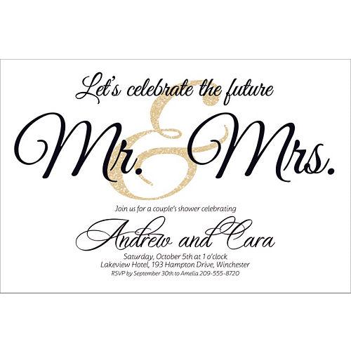 Bridal Shower Invitations, Thank You Notes & Invitation Kits