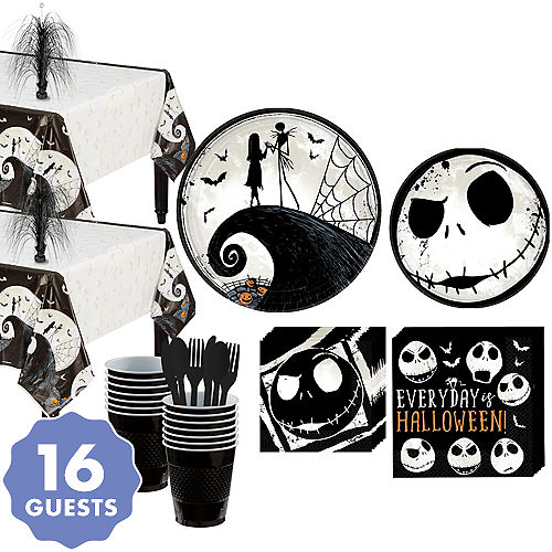 The Nightmare Before Christmas Party Kit for 16 Guests - Nightmare Before Christmas Decorations Party City