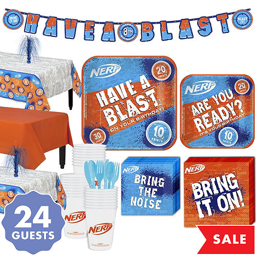 Nerf Party Supplies - Nerf Birthday Party | Party City