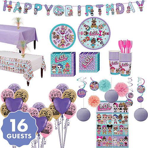 Lol Party Supplies Lol Birthday Party Party City