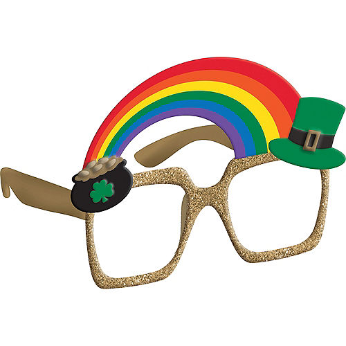 816295e4b6 Pot of Gold   Rainbow St. Patrick s Day Glasses
