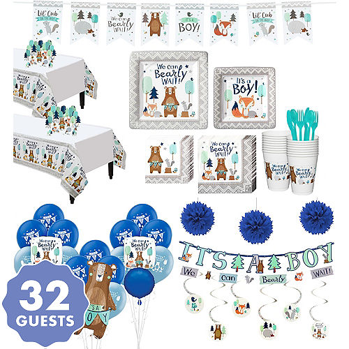 Woodland Baby Shower Party Supplies City Canada