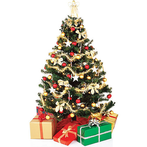 christmas tree standee - Cut Out Christmas Decorations