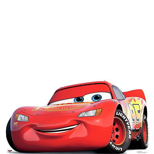 Lightning McQueen Life Size Cardboard Cutout