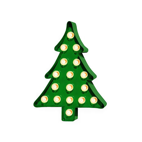 6f5b16222e993 Light-Up Christmas Tree Marquee Sign