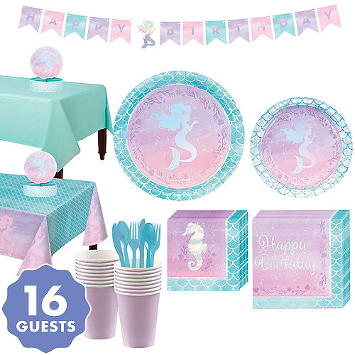 372e62b17e7 Mermaid Party Supplies - Mermaid Birthday | Party City