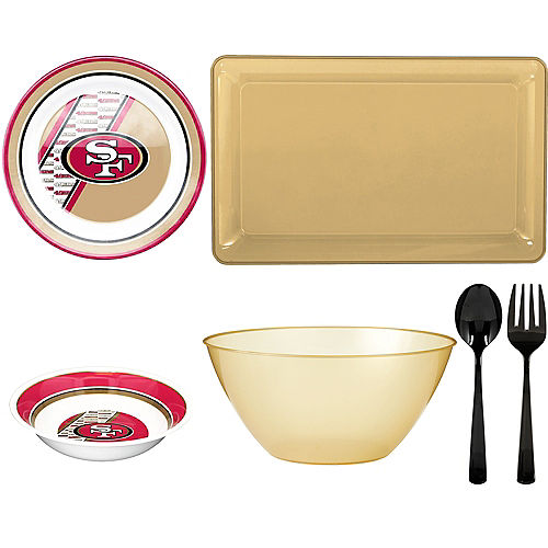 San Francisco 49ers Serveware Kit