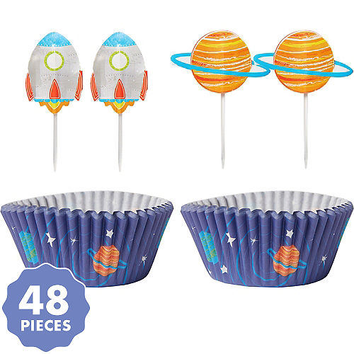 Blast Off Cupcake Decorating Kit For 24
