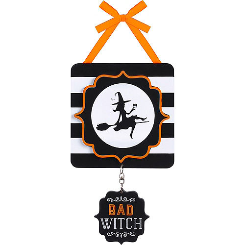 Good Witch Bad Witch Sign