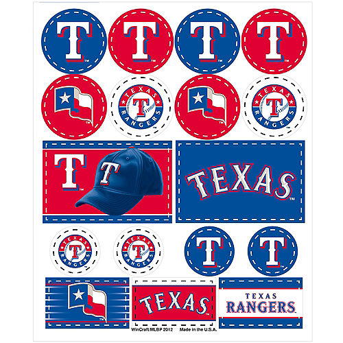 Mlb Texas Rangers Party Supplies Party City