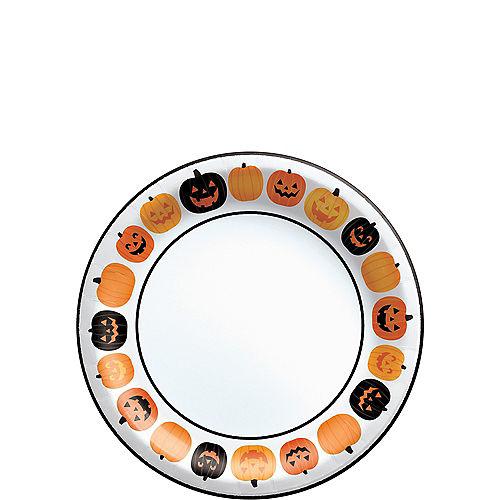 Pumpkin Fun Dessert Plates, 6.75in, 40ct