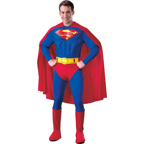 Adult Superman Costume Deluxe